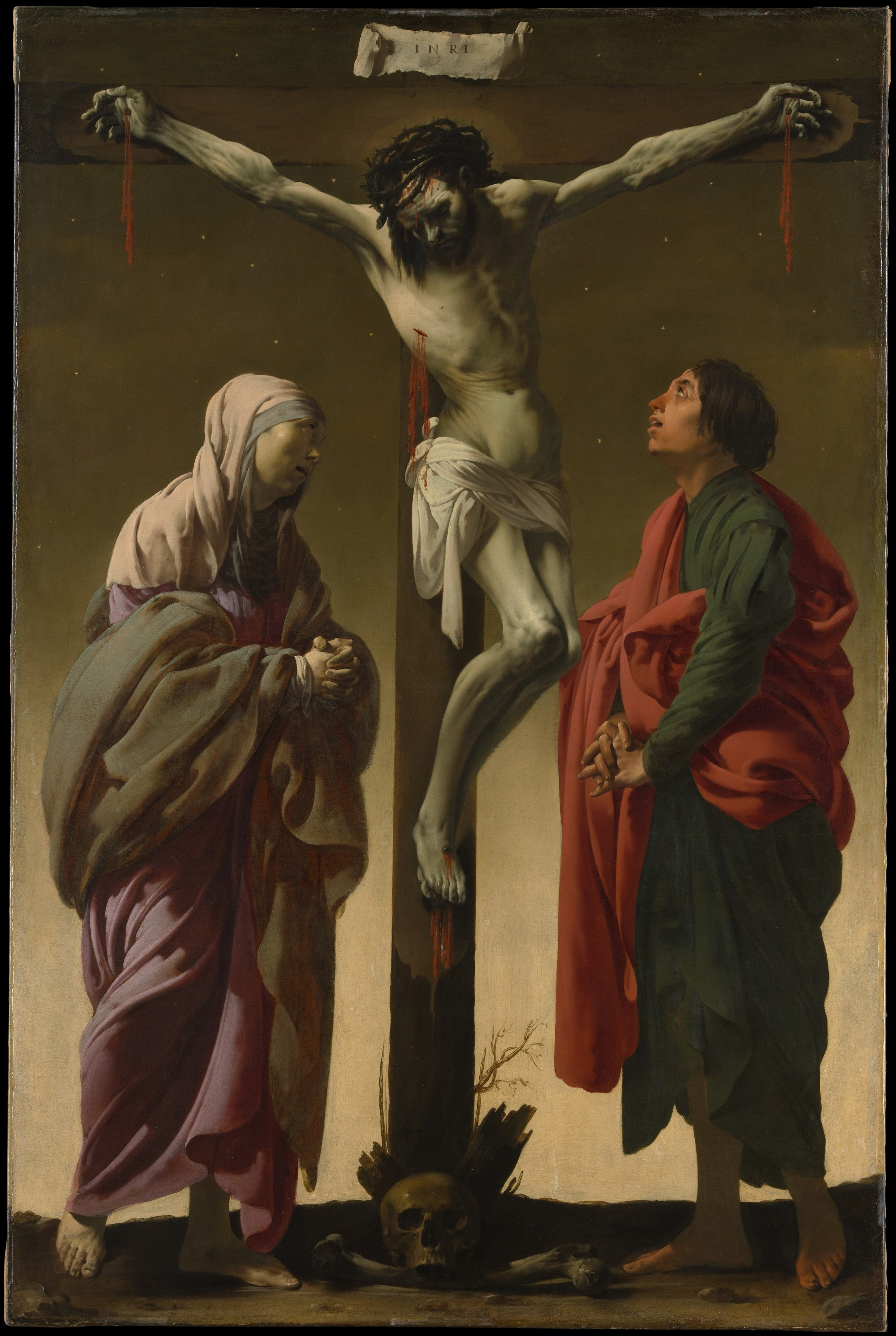 crucifixion with the virgin and st john wikipedia