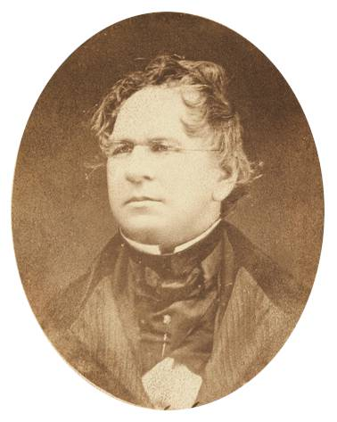 Photo of Henry Schoolcraft in 1855.