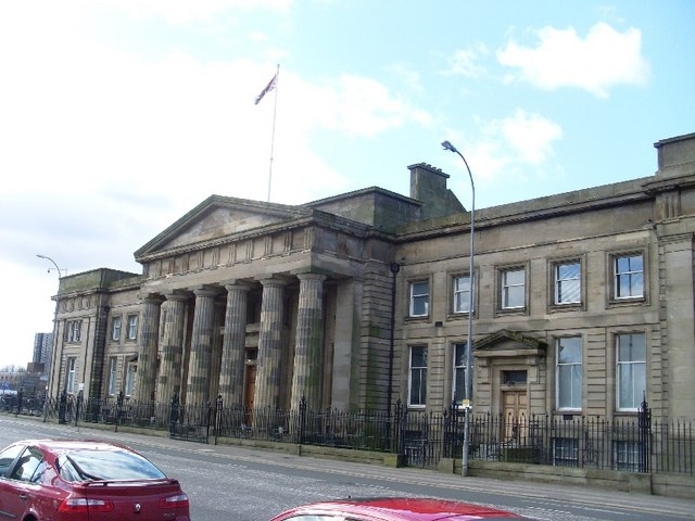 High Court, Glasgow - geograph.org.uk - 734407