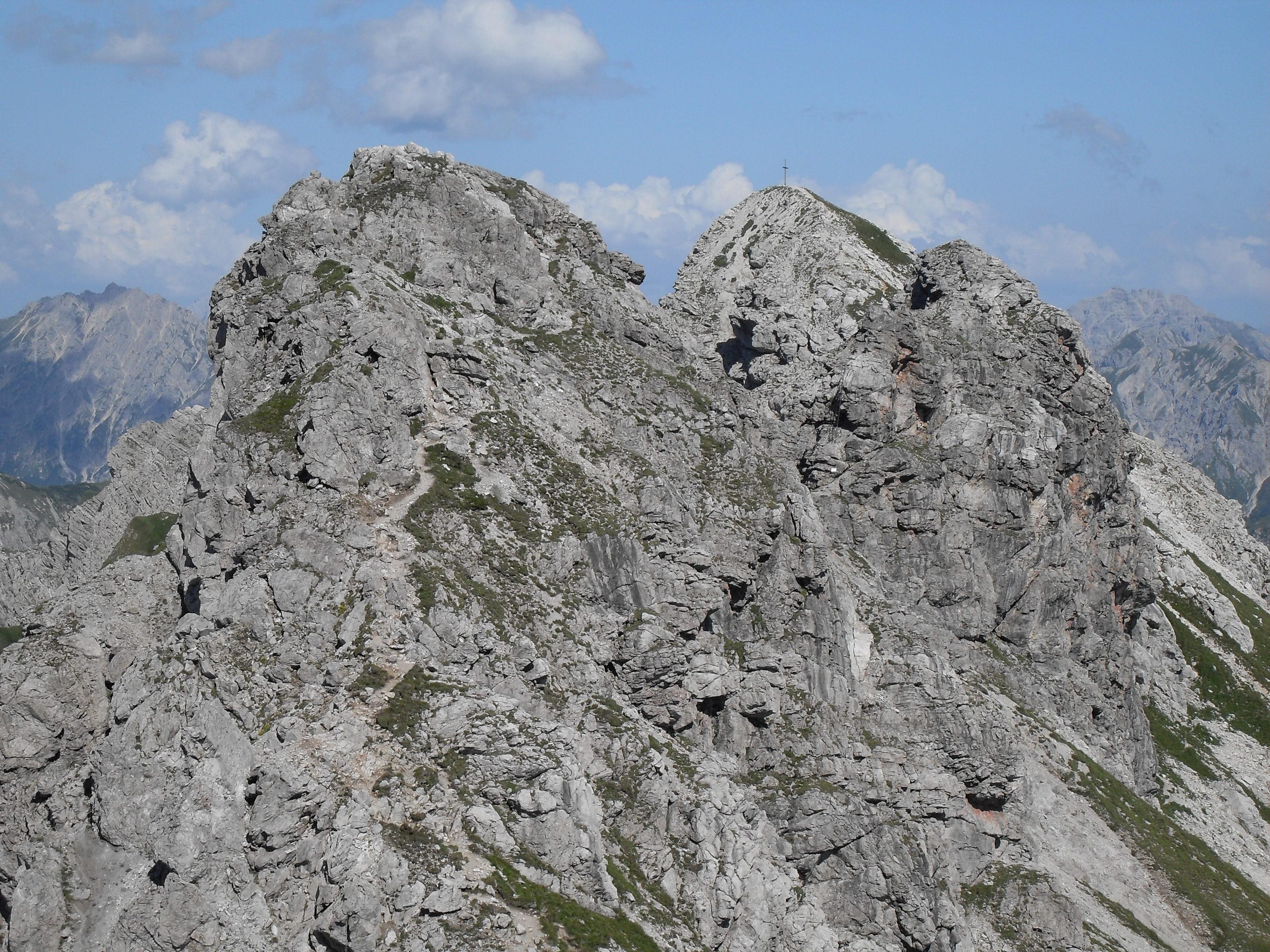 Hindelanger Klettersteig Wengenkopf : File:hindelanger klettersteig from nebelhorn.jpg wikimedia commons