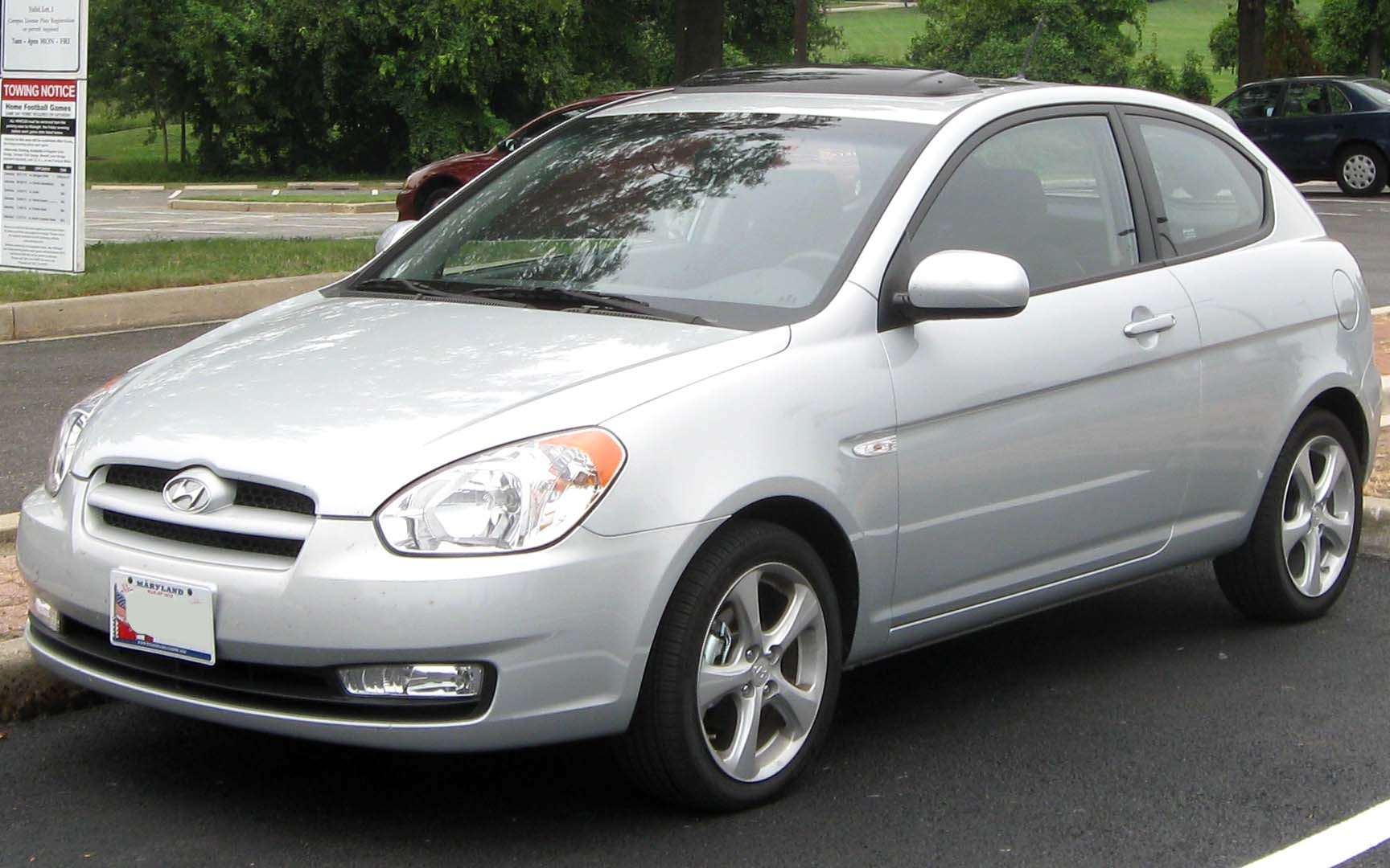 File Hyundai Accent Se Front 09 03 2010 Jpg Wikimedia Commons