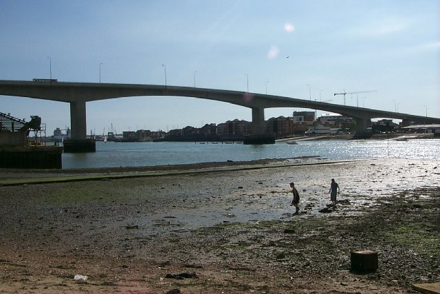 Itchen Bridge - geograph.org.uk - 22418