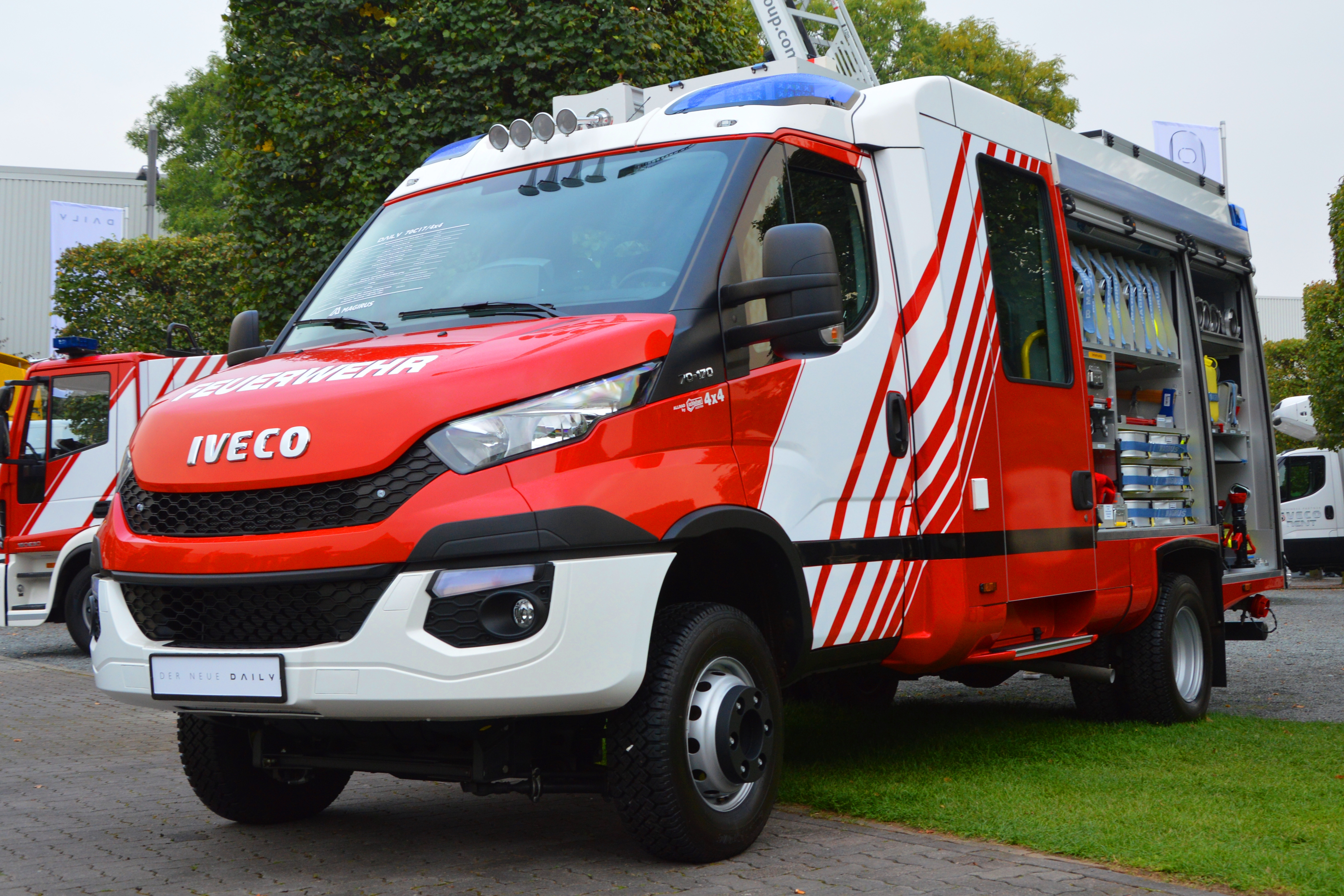 datei iveco daily 2014 fire engine free image spielvogel jpg wikipedia. Black Bedroom Furniture Sets. Home Design Ideas