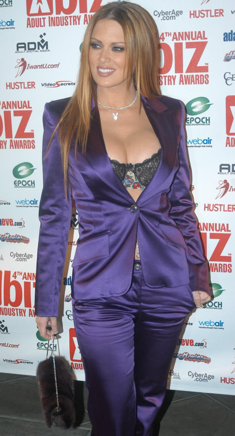 Jenna Jameson at the 2005 XBIZ Award Show