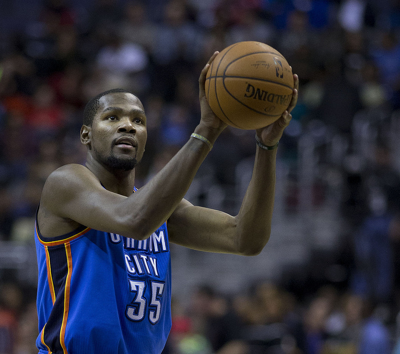 kevin durant toe