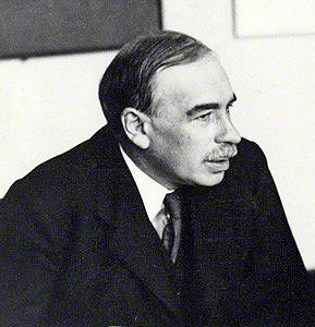 Photo of John Maynard Keynes