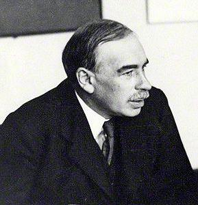 Depiction of John Maynard Keynes