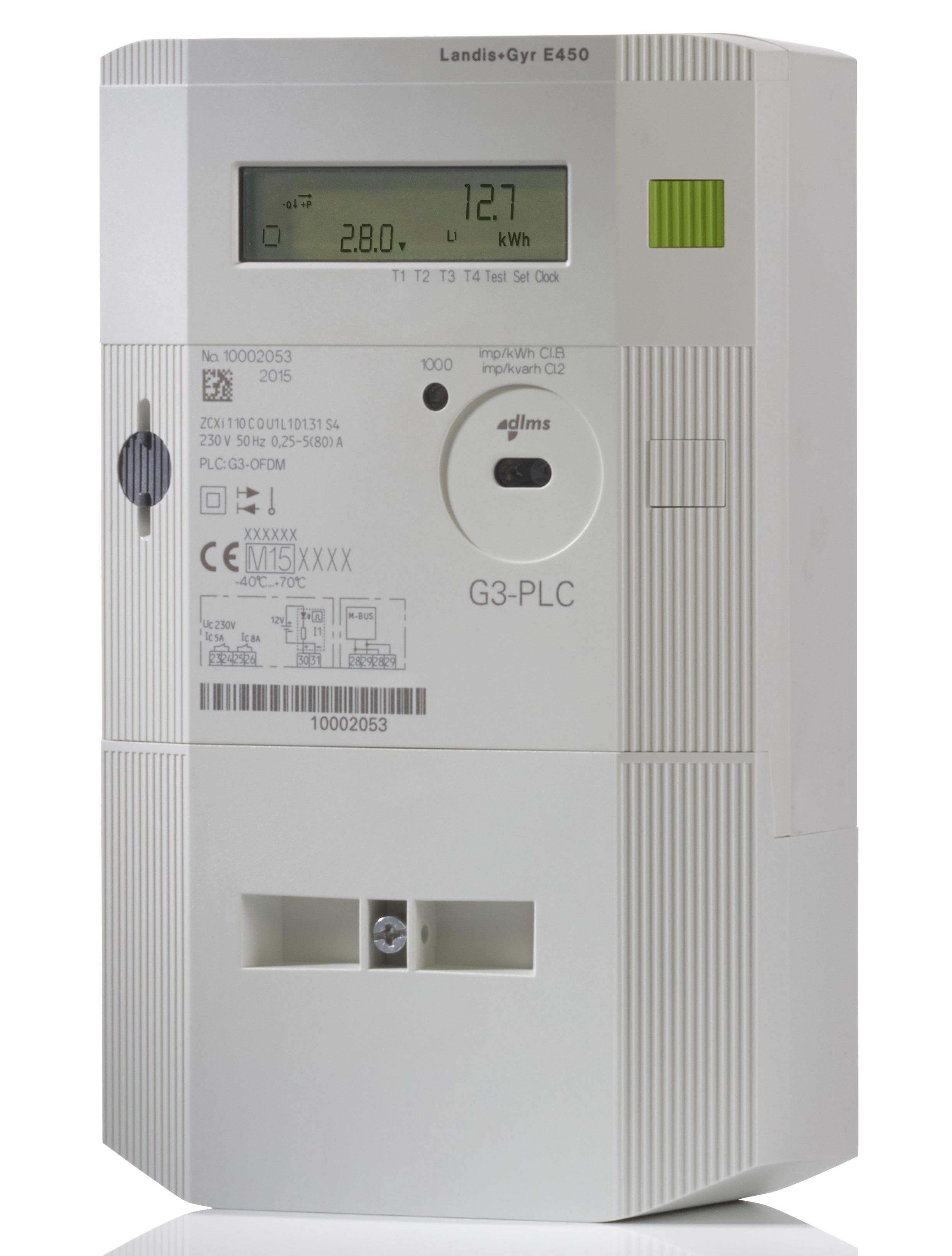 file landis gyr e450 g3 1 phase smart electricity meter jpg rh commons wikimedia org landis gyr e450 manual landis gyr e350 manual