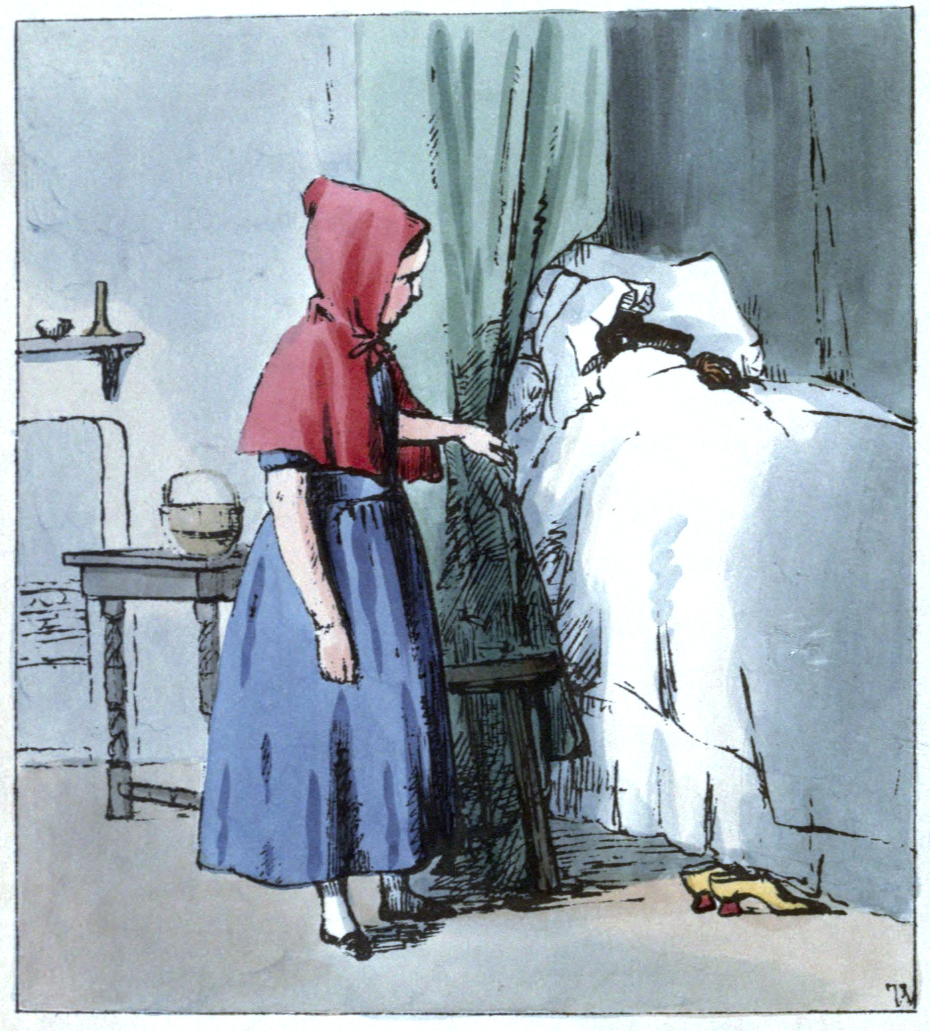 File Little Red Riding Hood So She Went To The Bedside Jpg