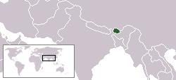 LocationBhutan