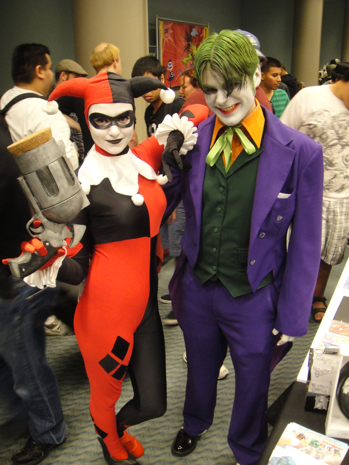 File Long Beach Comic Expo 2011 Harley Quinn And The Joker