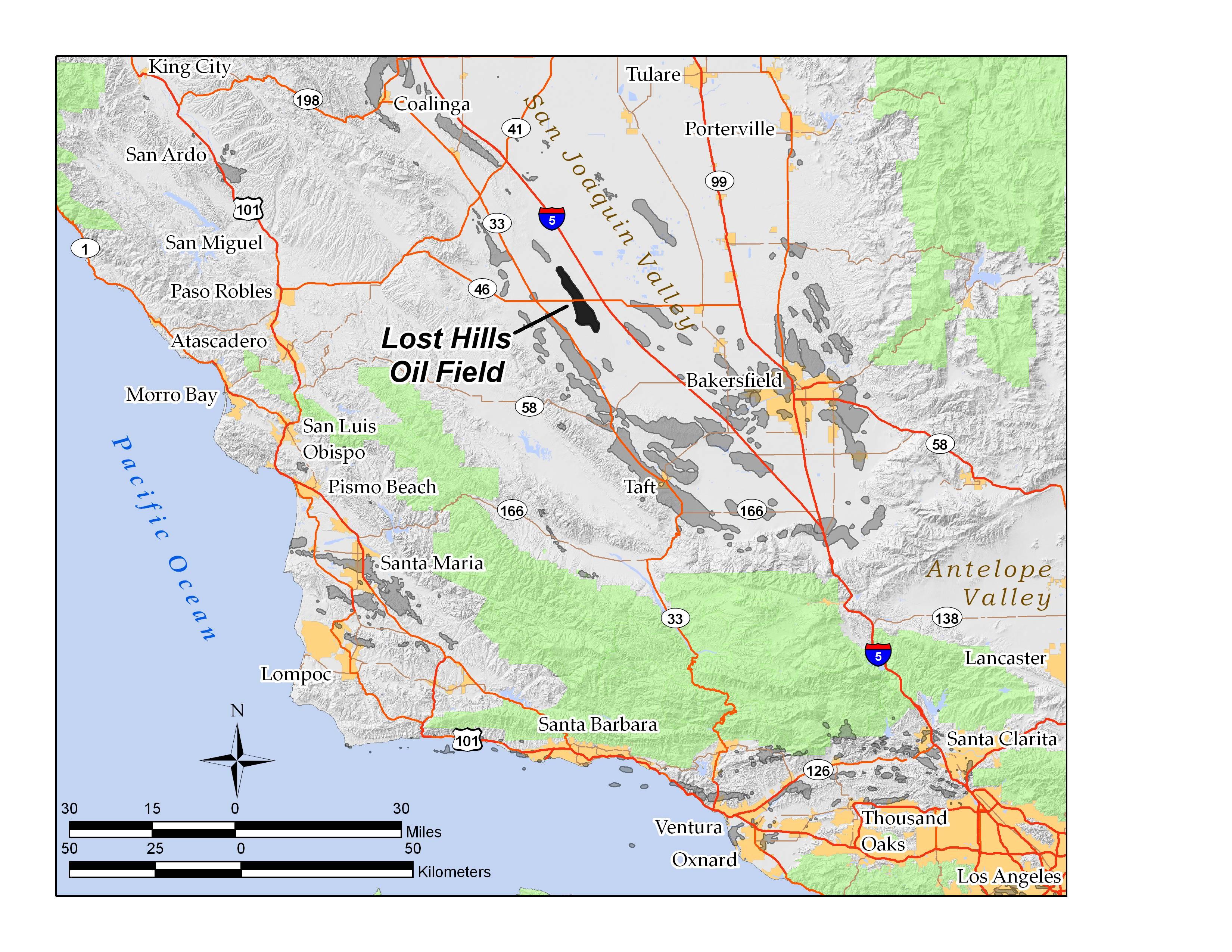 Lost Hills Oil Field