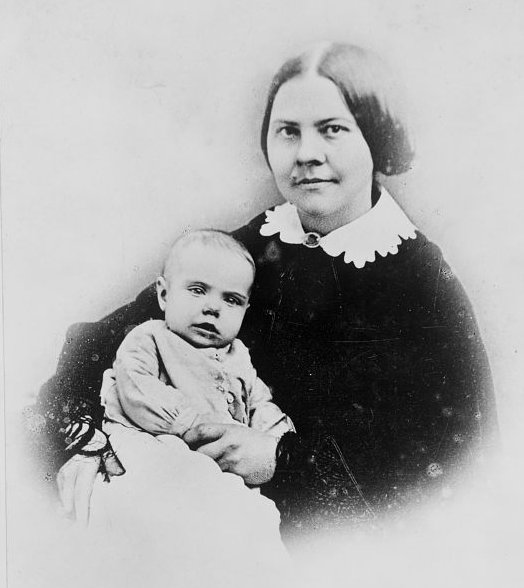 Lucy Stone and baby Alice