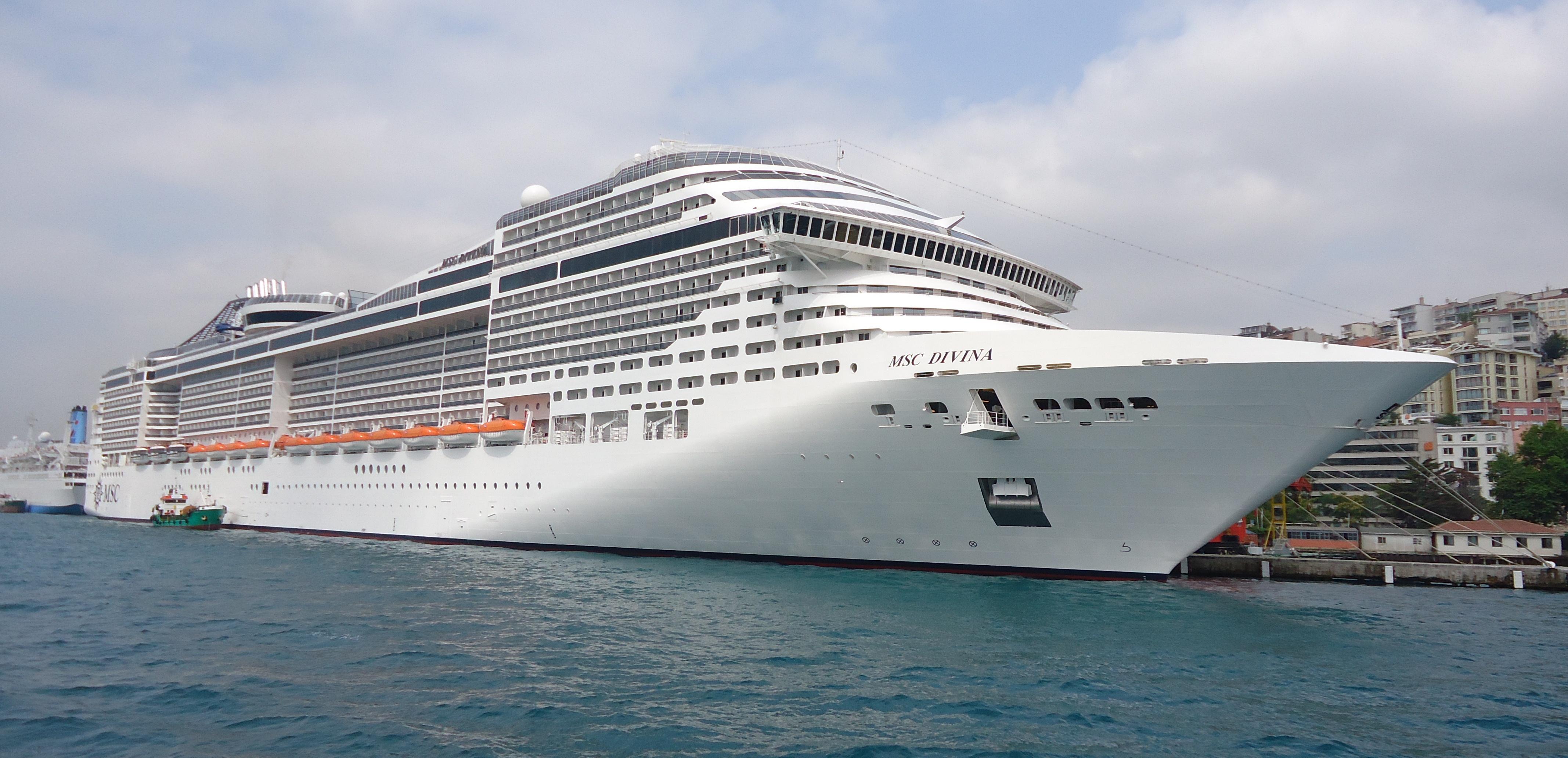 MSC Divina Wikipedia - Msc divina cruise ship