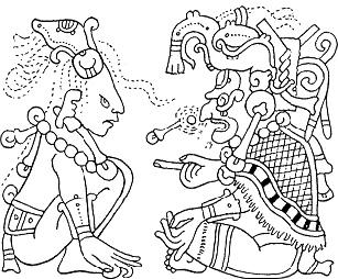 mayas hombre puma