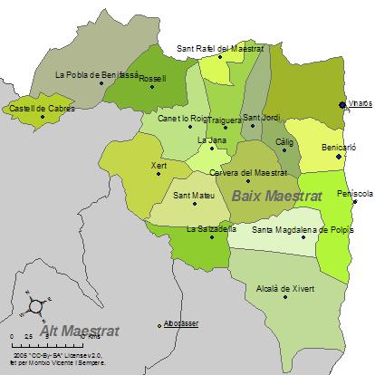 Fitxer:Mapa del Baix Maestrat.png