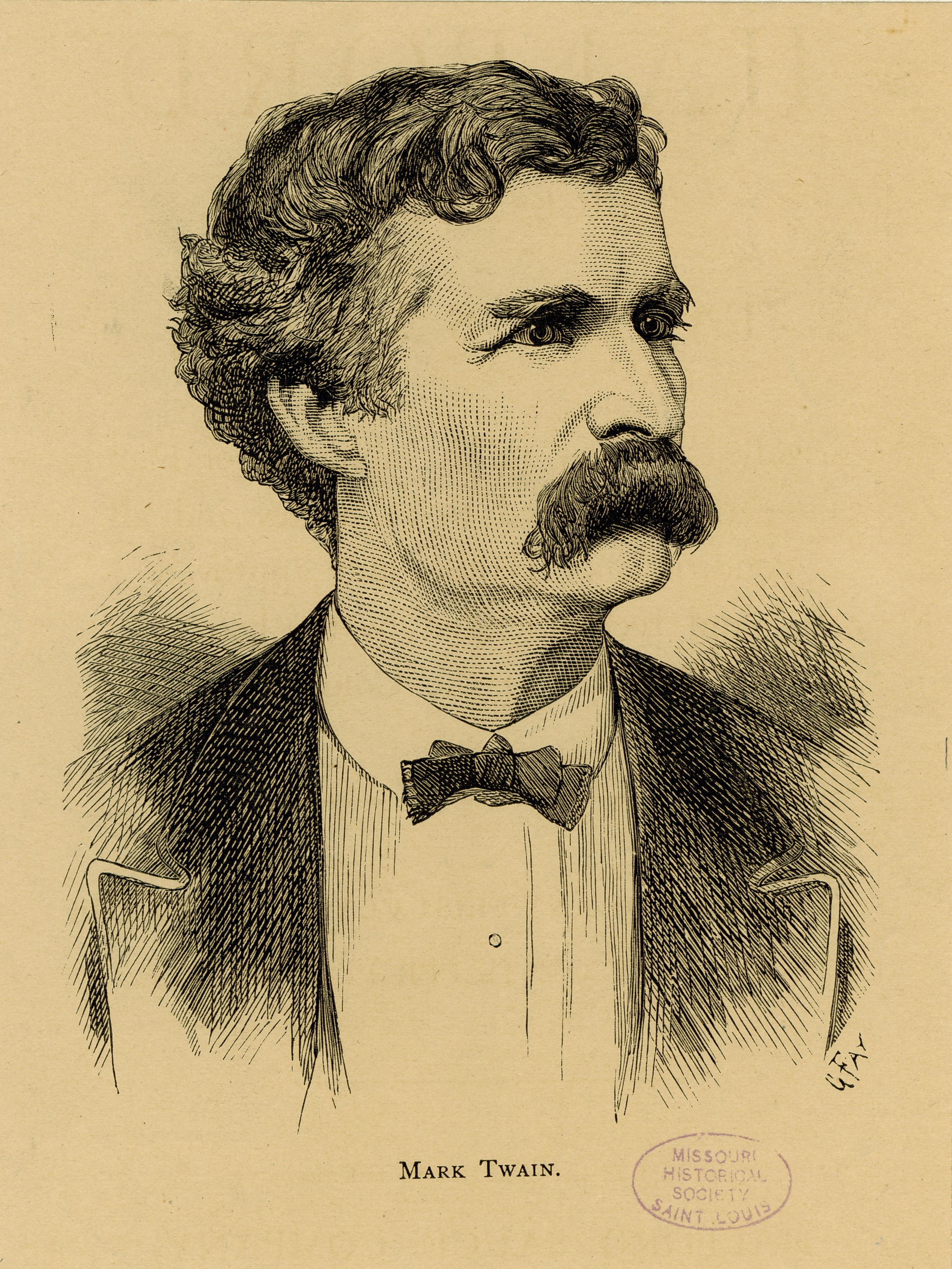 File:Mark Twain. (Samuel Clemens).jpg - Wikimedia Commons