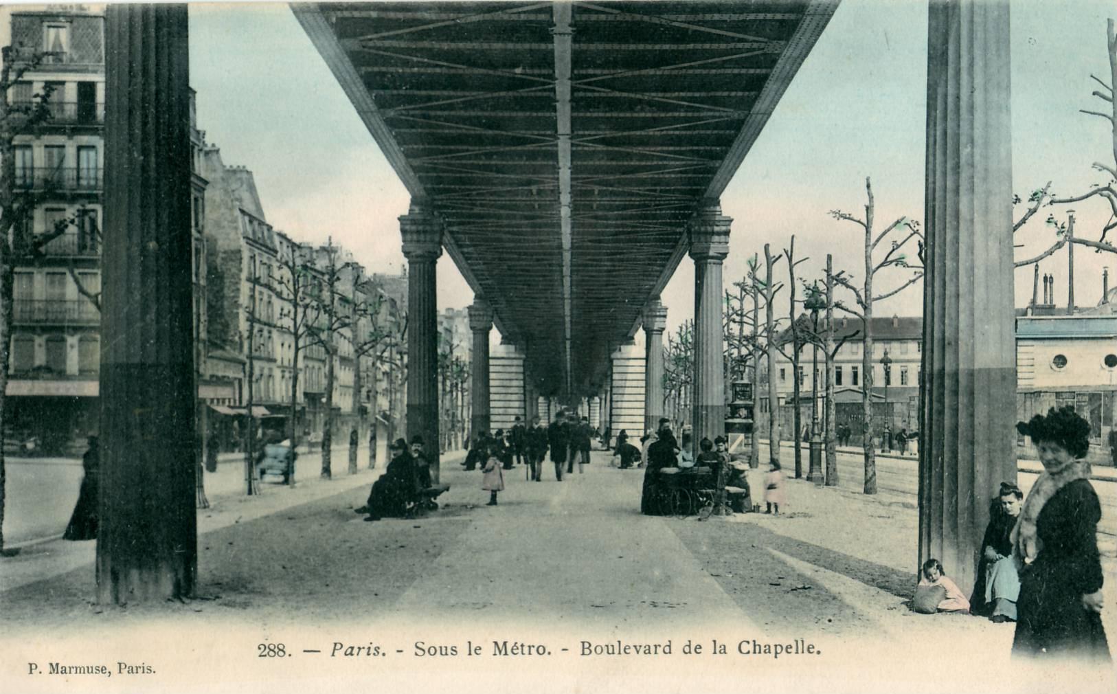 Place De La Chapelle  Paris Arr  Ville De Paris