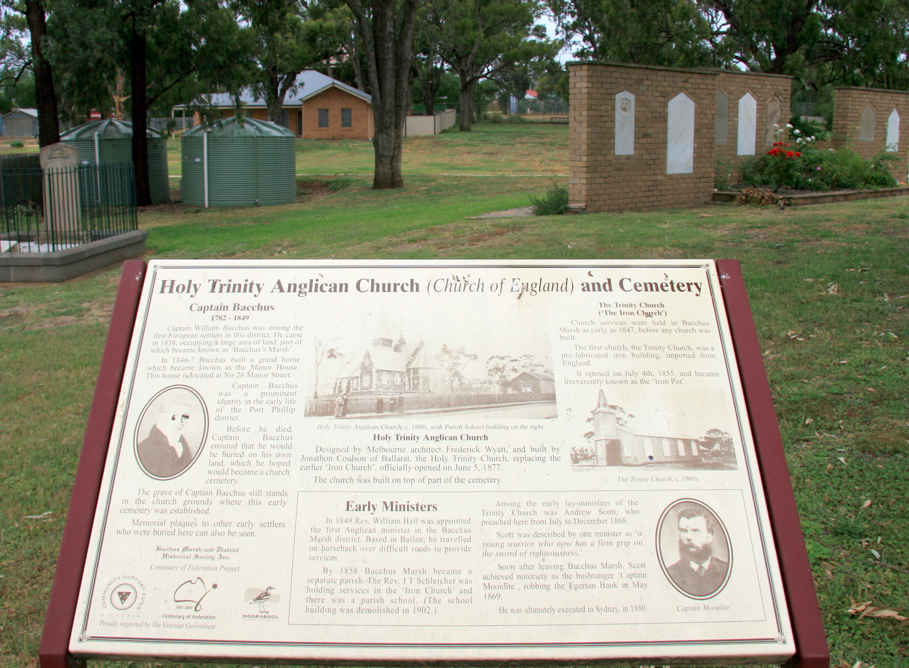 File:Memorial Garden Interp Board   Holy Trinity Bacchus Marsh.JPG