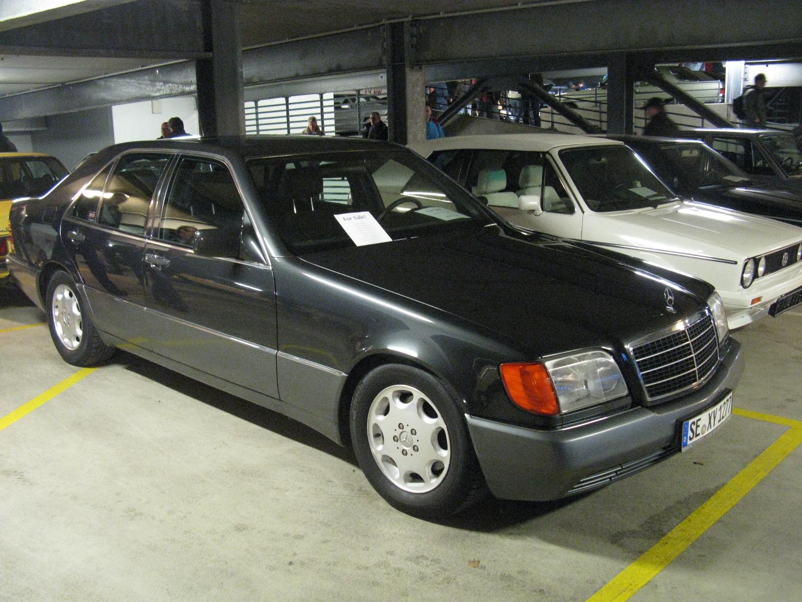 File mercedes benz 500 se w140 8482063010 jpg for Mercedes benz 500se