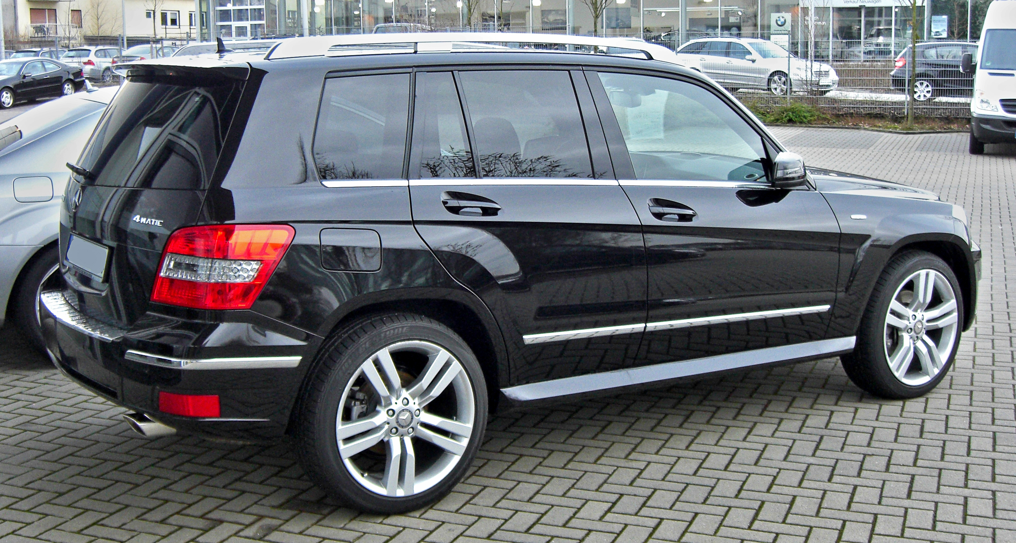 File Mercedes Glk 350 4 Matic 2009221 Rear Jpg Wikimedia Commons