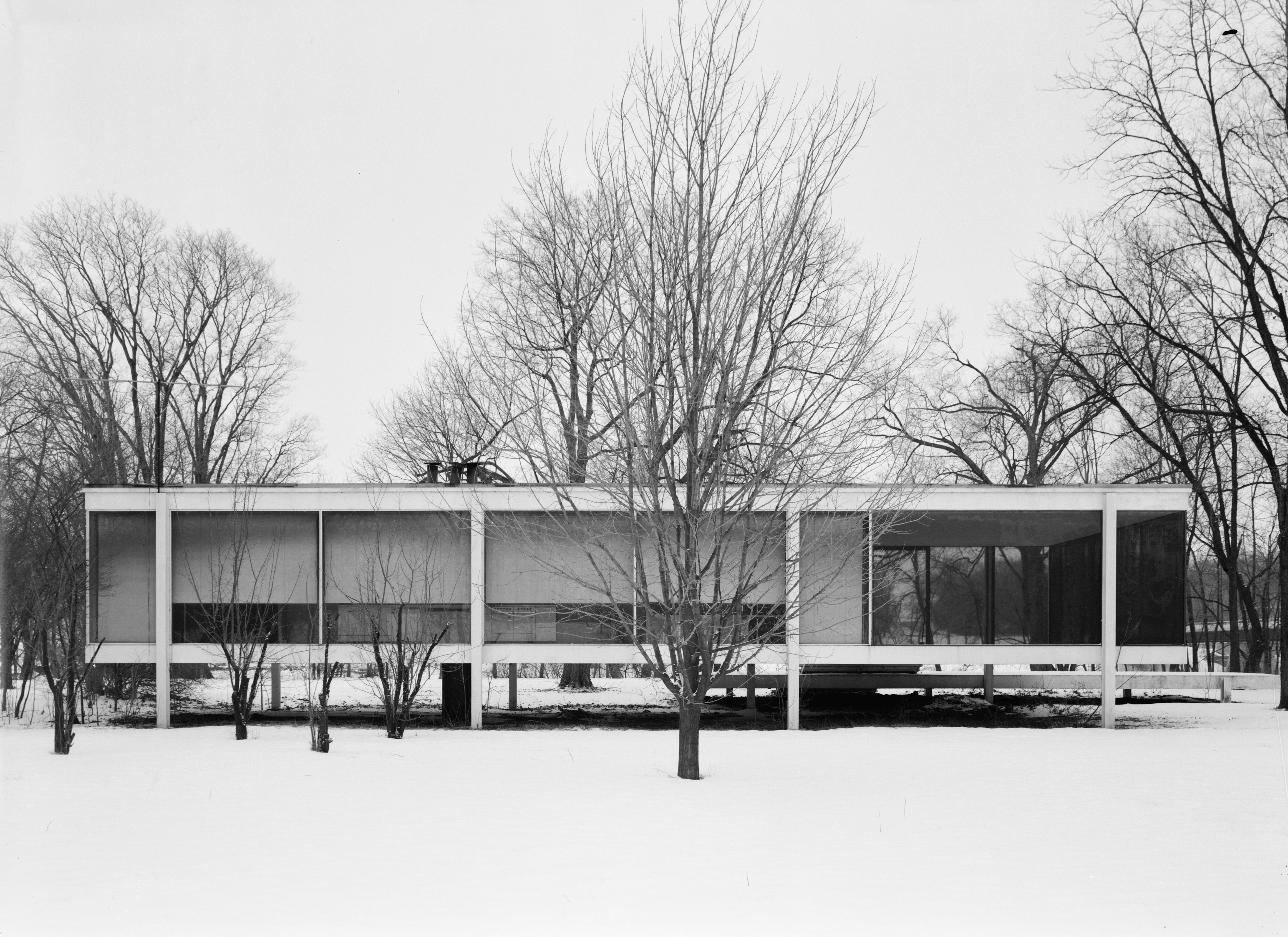 file mies van der rohe photo farnsworth house plano usa wikimedia commons. Black Bedroom Furniture Sets. Home Design Ideas