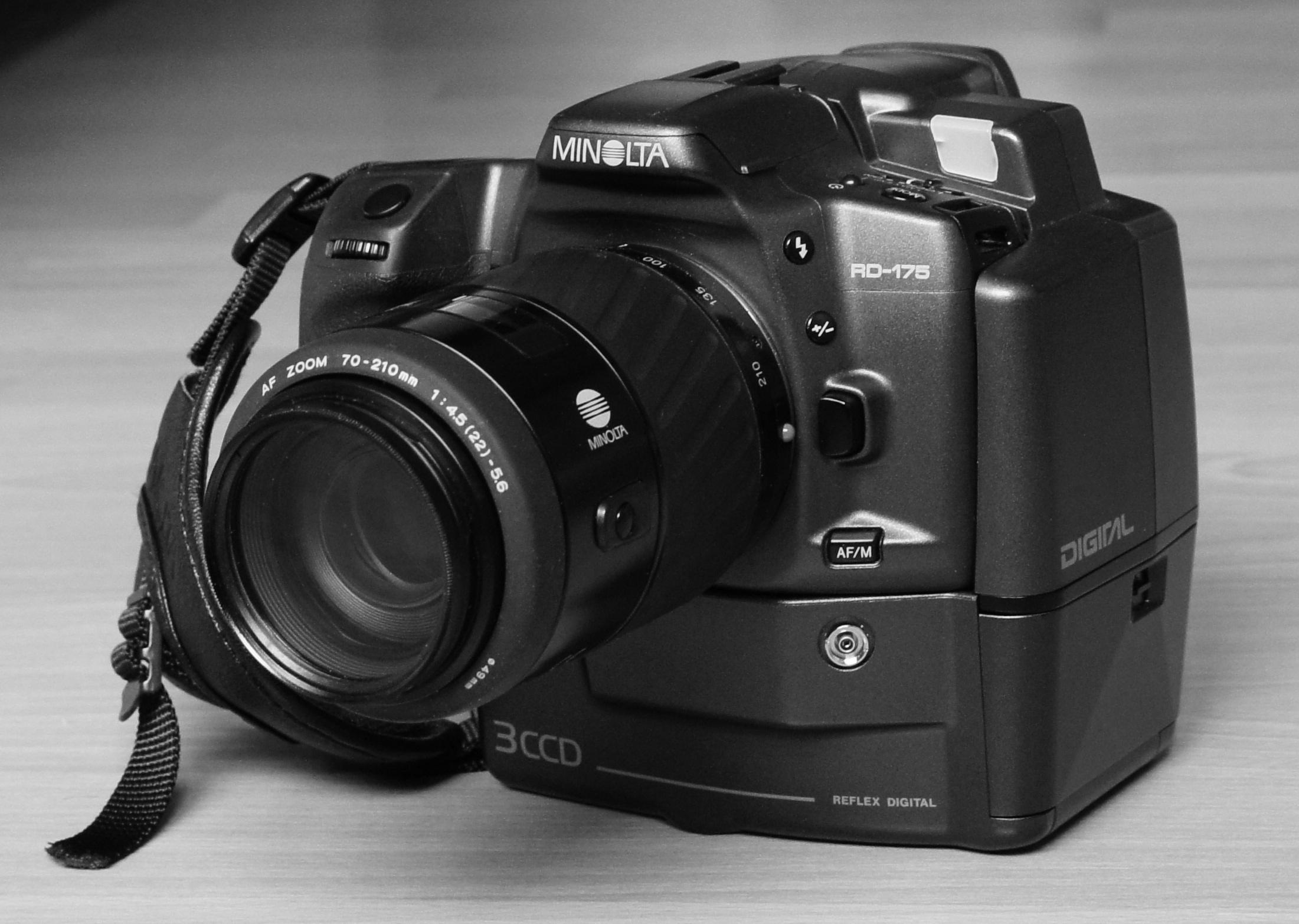 fileminolta rd 175 digital slrjpg - Minolta Digital Camera