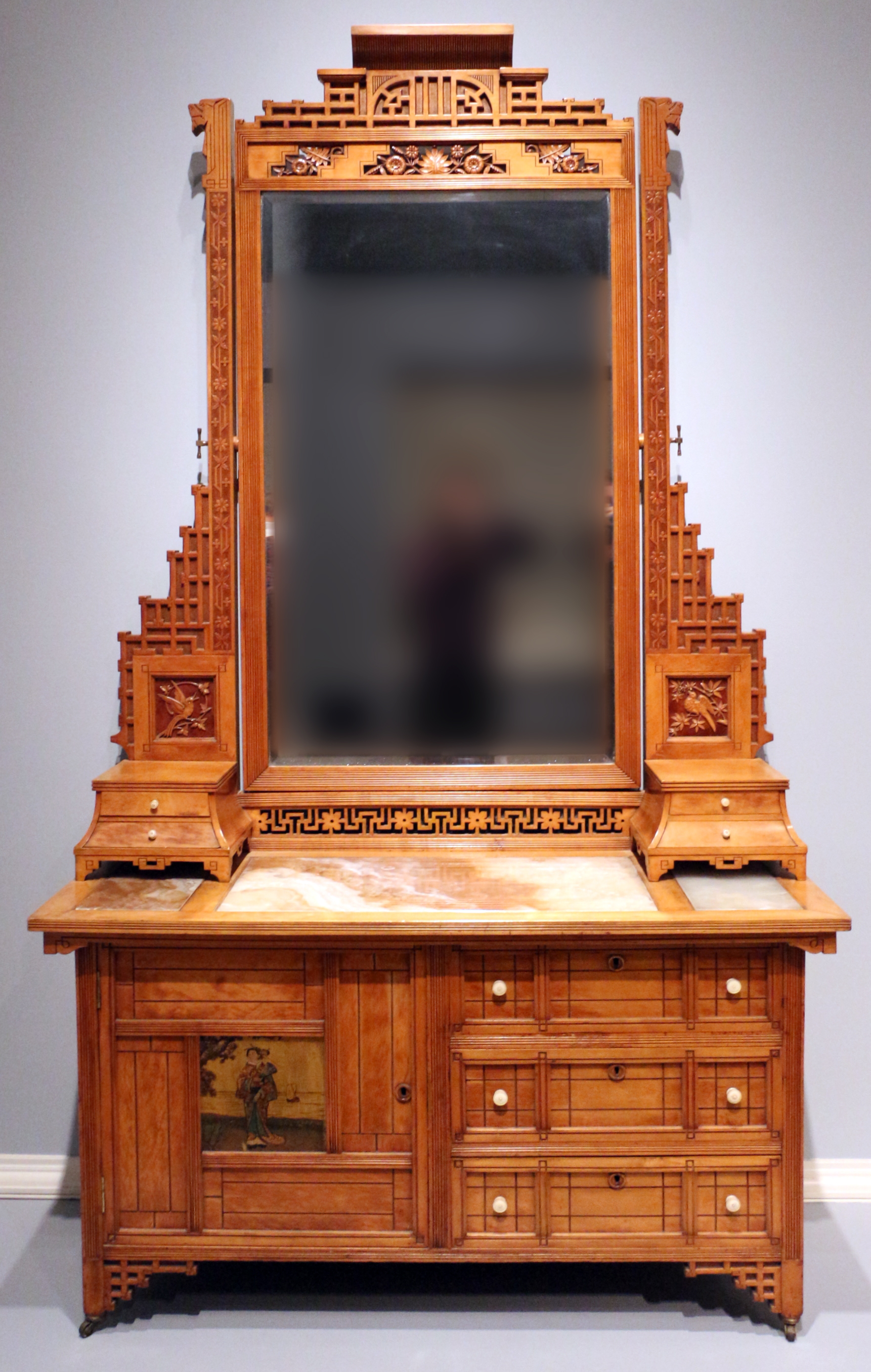 Cassettiera Camera Da Letto Con Specchio.File Mitchell Rammelsberg Furniture Co Tramite Hersee Co