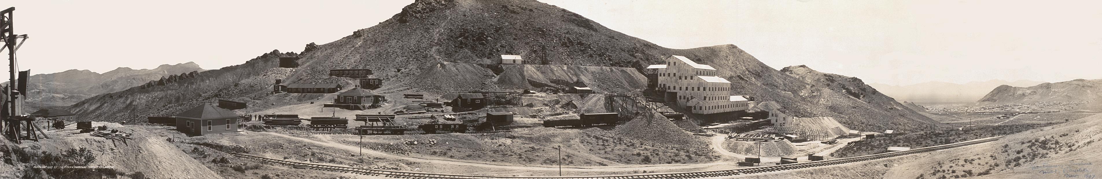 Montgomery-Shoshone mine panorama