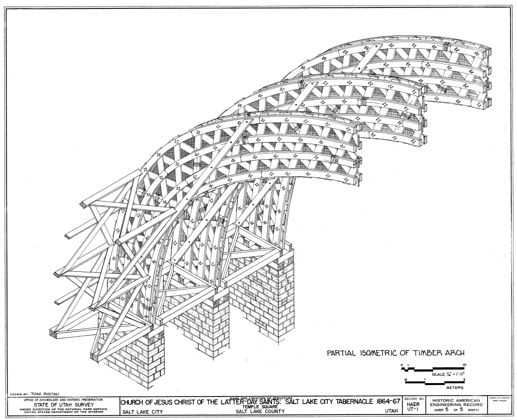 file mormon tabernacle arch section png wikimedia commons