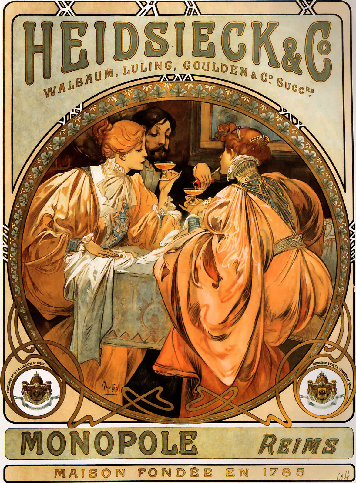 Alfons mucha on pinterest alphonse mucha art nouveau for Arts et decoration abonnement