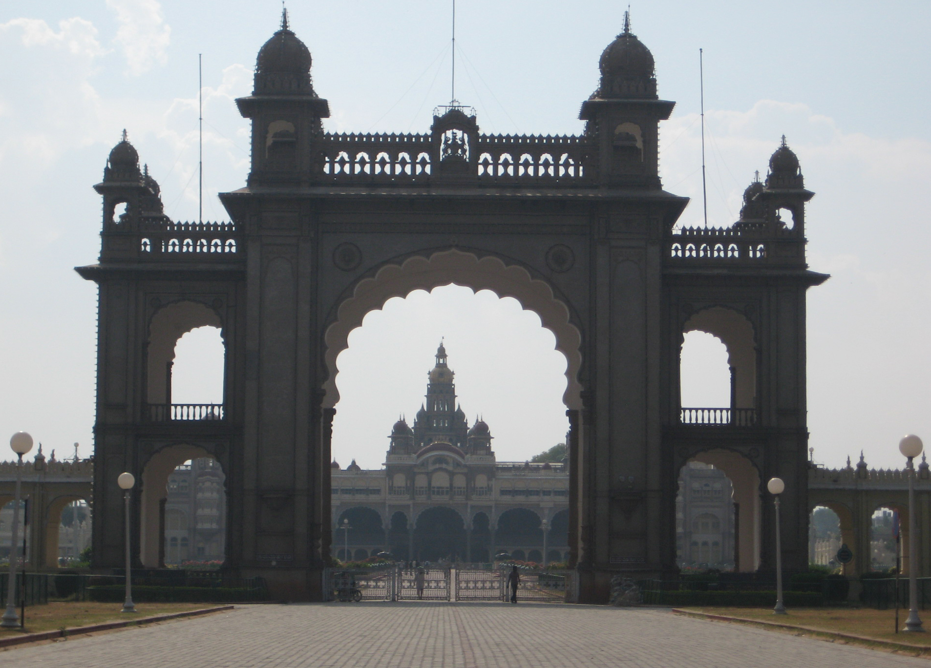 Mysore Palace main approach