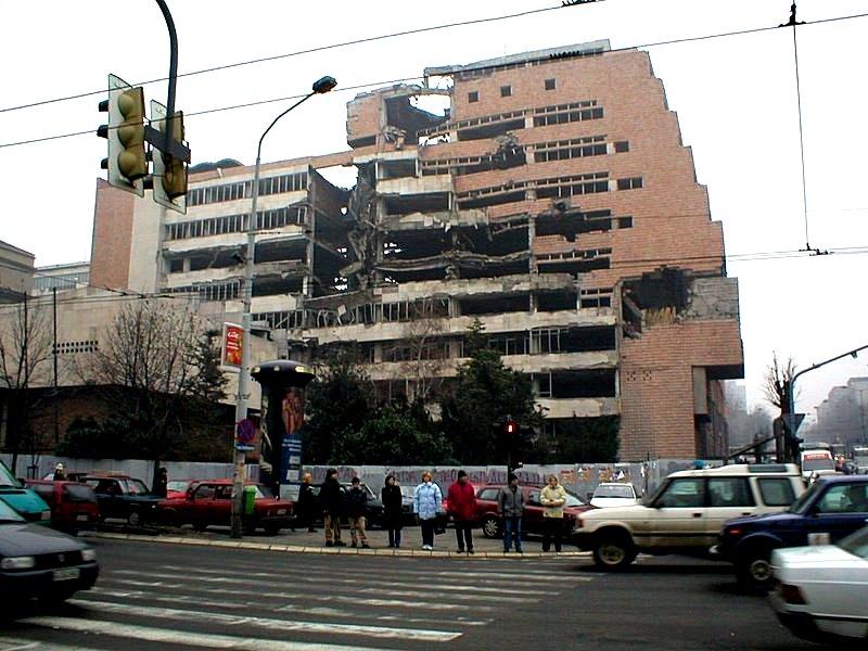 Бомбардовање Београда (1999) — Википедија, слободна енциклопедија