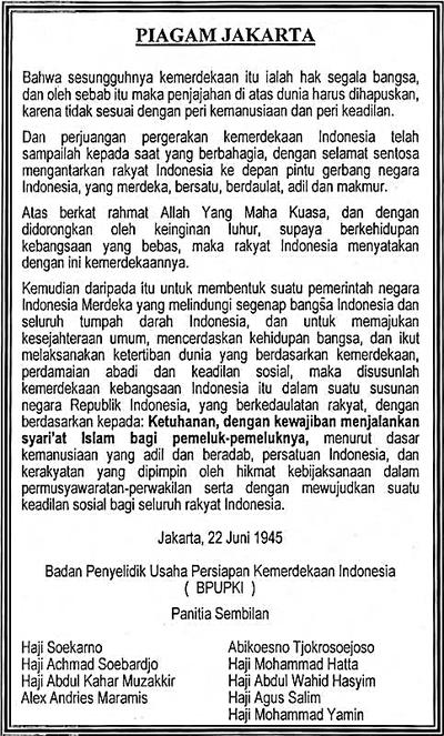 Panitia Sembilan Wikipedia Bahasa Indonesia Ensiklopedia Bebas