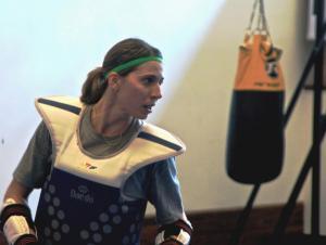 Natália Falavigna Brazilian taekwondo practitioner