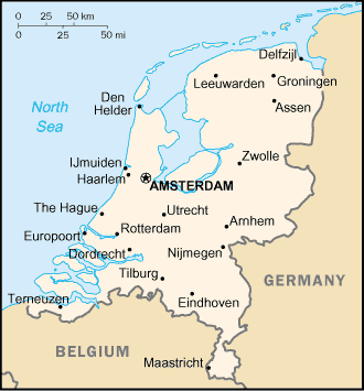 Netherlands-CIA WFB Map (2004).png