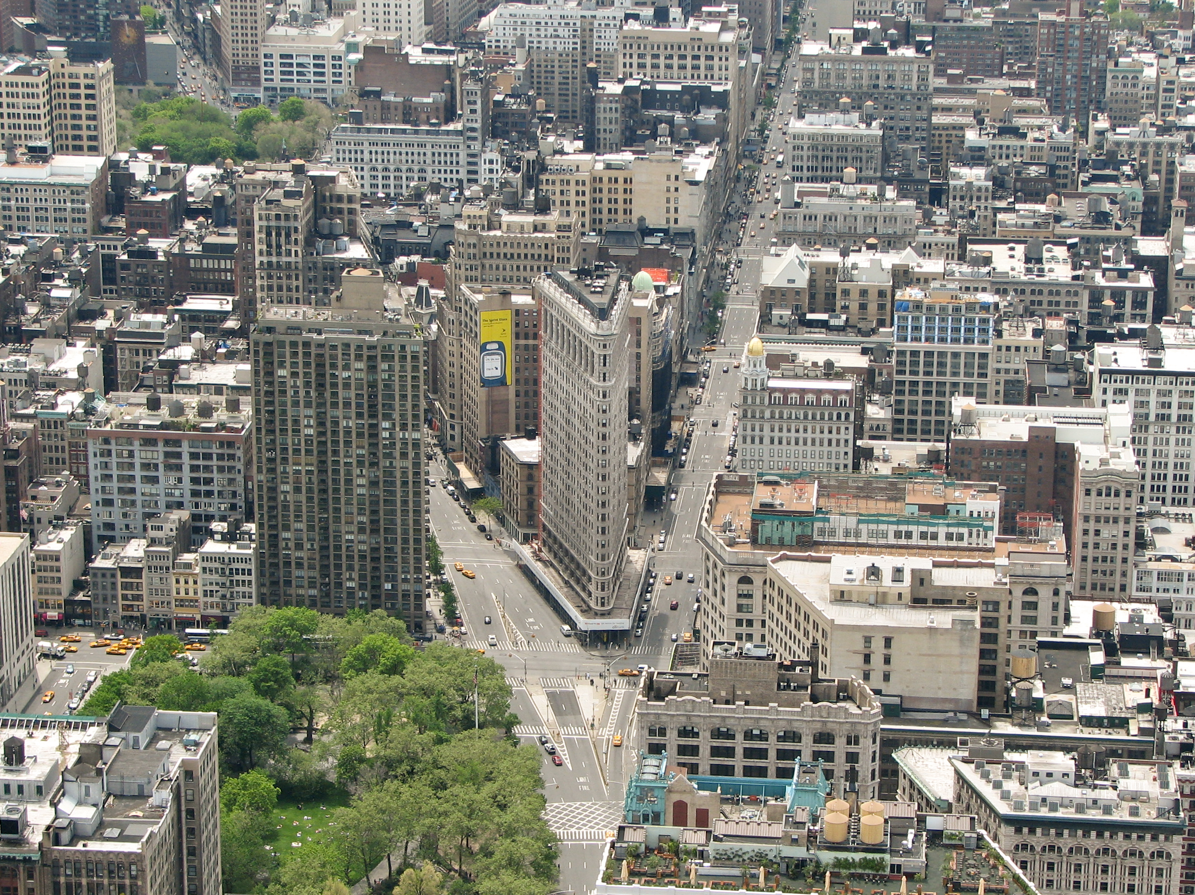 Description new york city view from empire state building 25