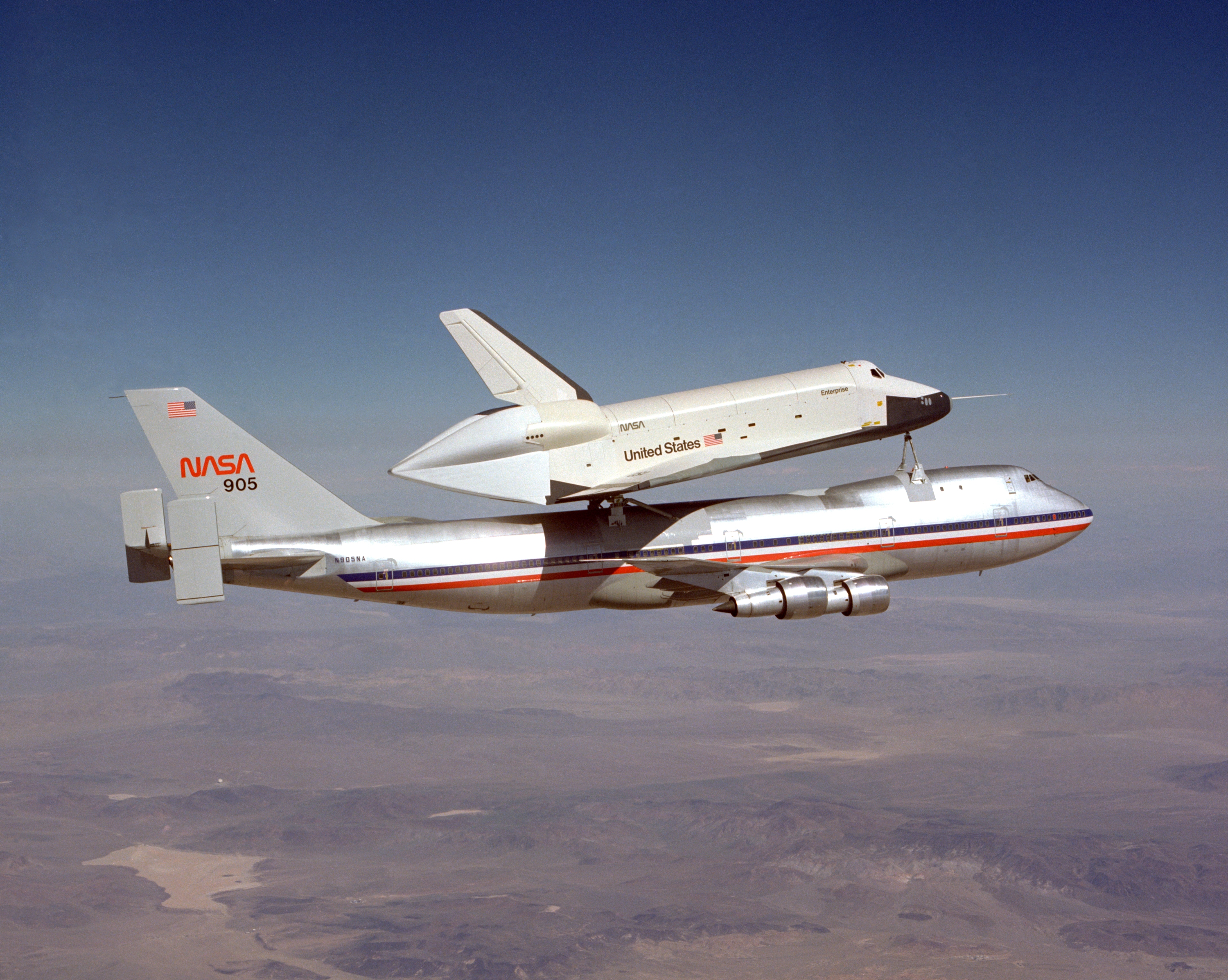nasa 905 transport - photo #47