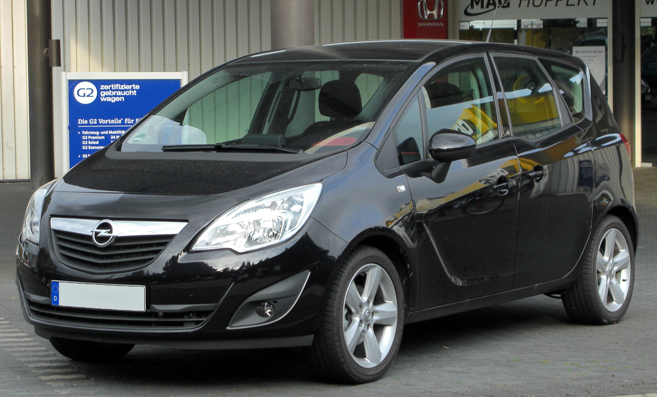 image gallery opel meriva specifications. Black Bedroom Furniture Sets. Home Design Ideas
