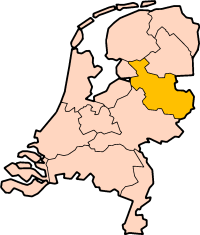 Location of Overijssel