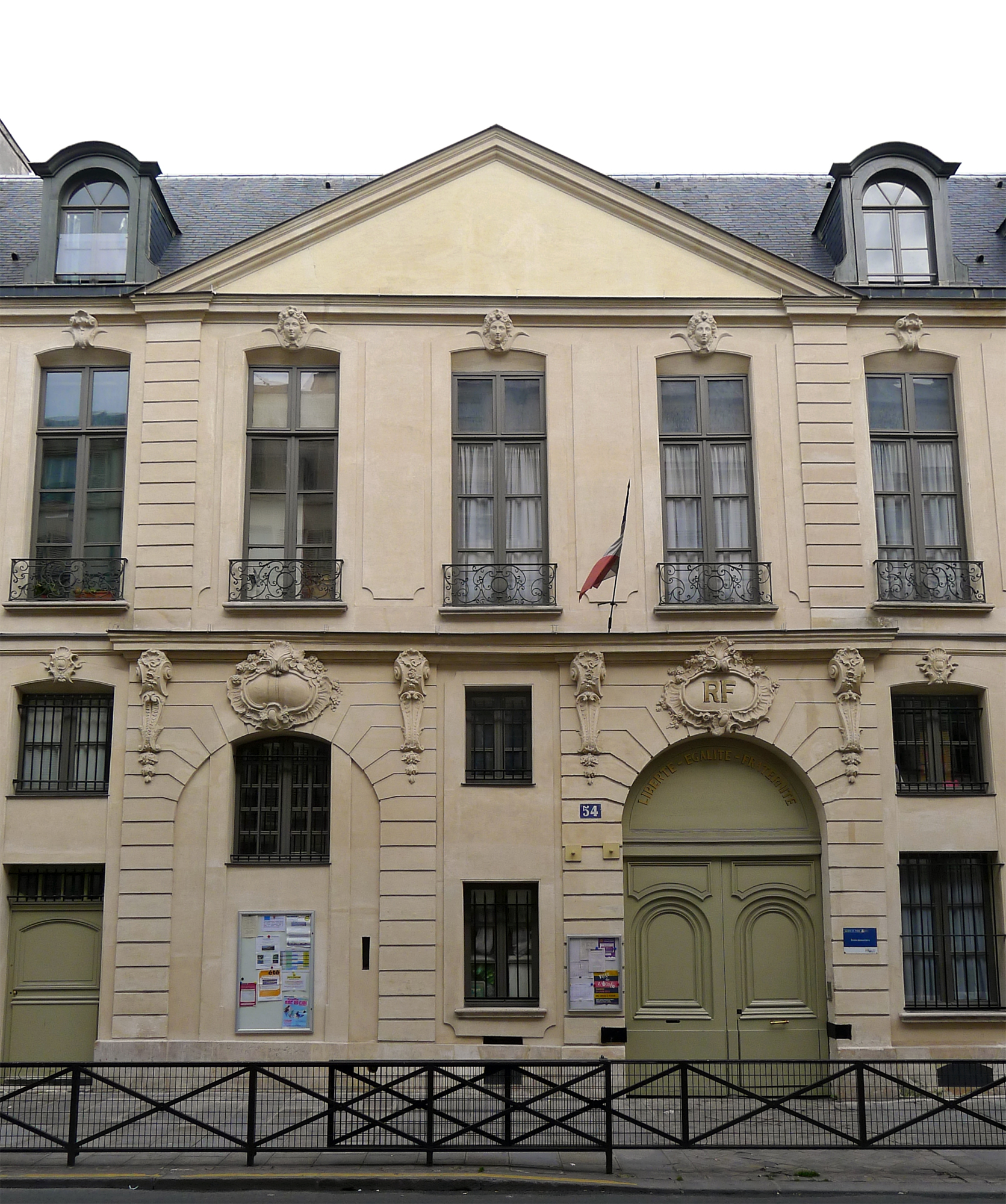 File:P1190636 Paris III rue de Turenne n54 hotel de Gourgues rwk.jpg ...
