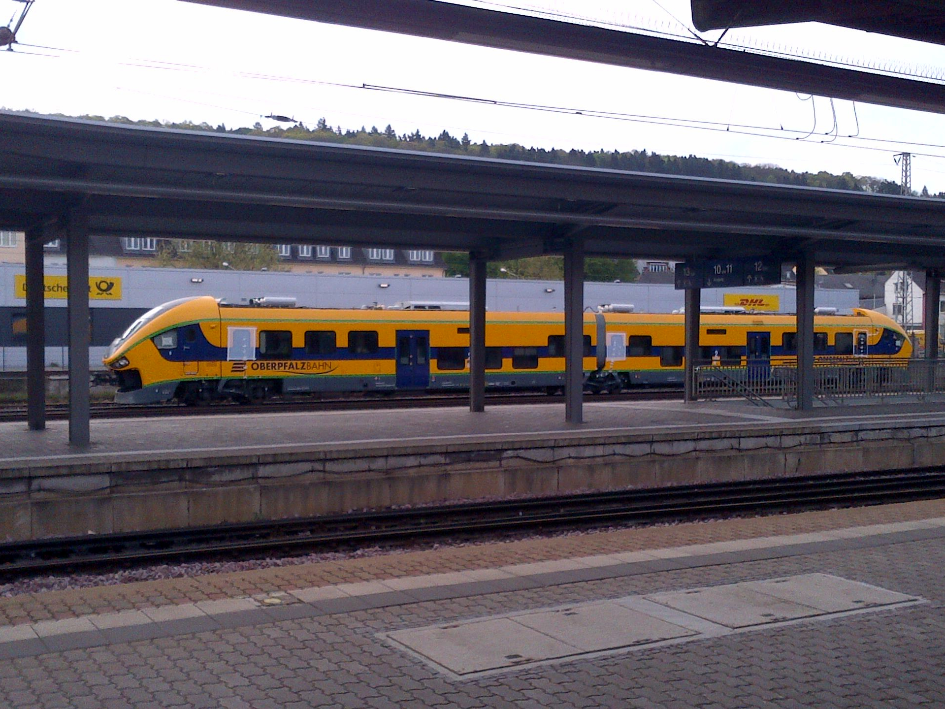FilePESA LINK II of Oberpfalzbahn at Trier HBF in April 2014jpg