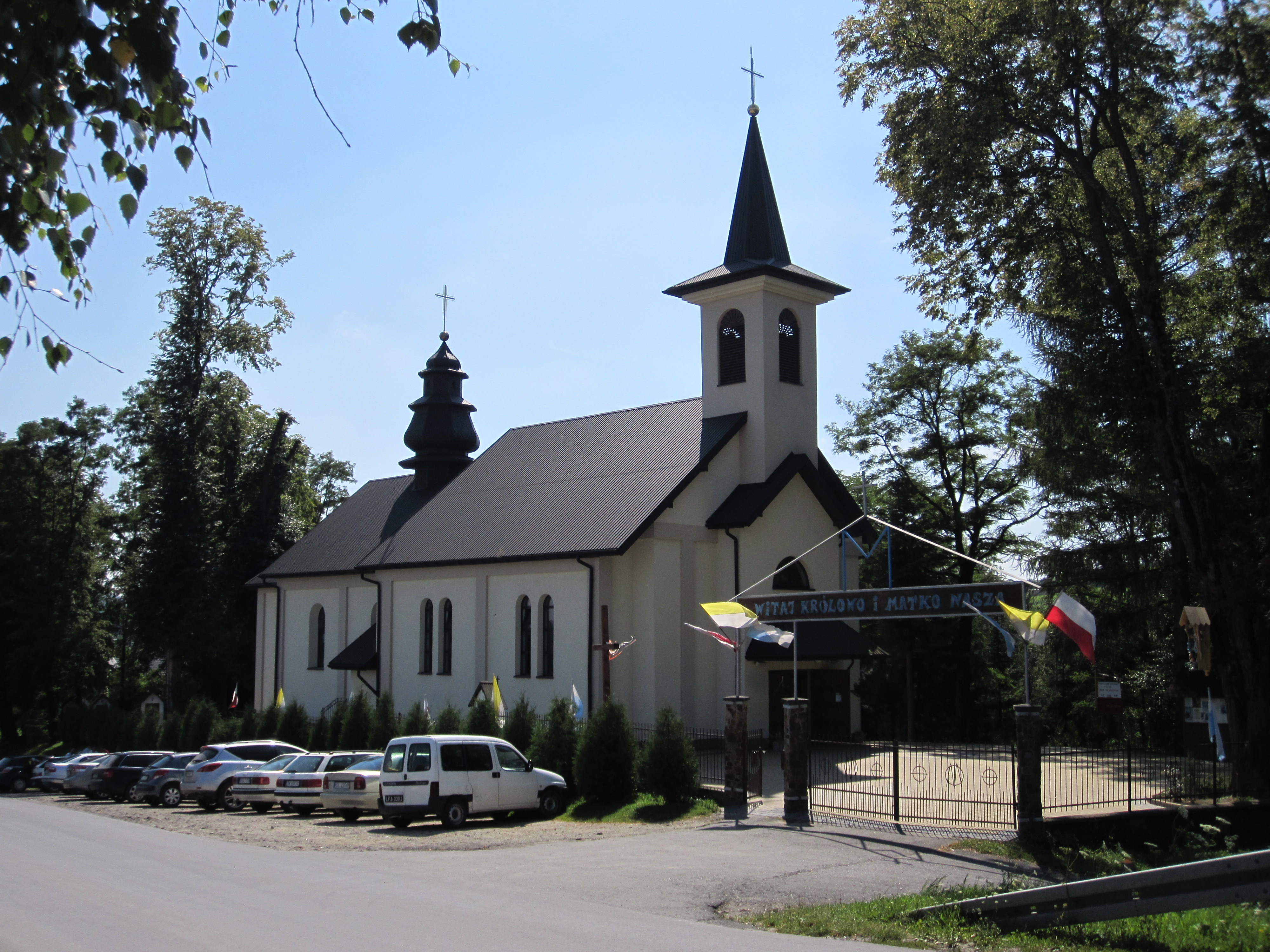 Cerkiew św. Męczennicy Paraskewii w Polańczyku obecnie kościół Najświętszej Maryi Panny Królowej Polski