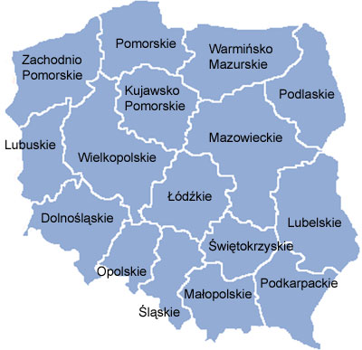 picture regarding Printable Map of Poland named Atlas of Poland - Wikimedia Commons