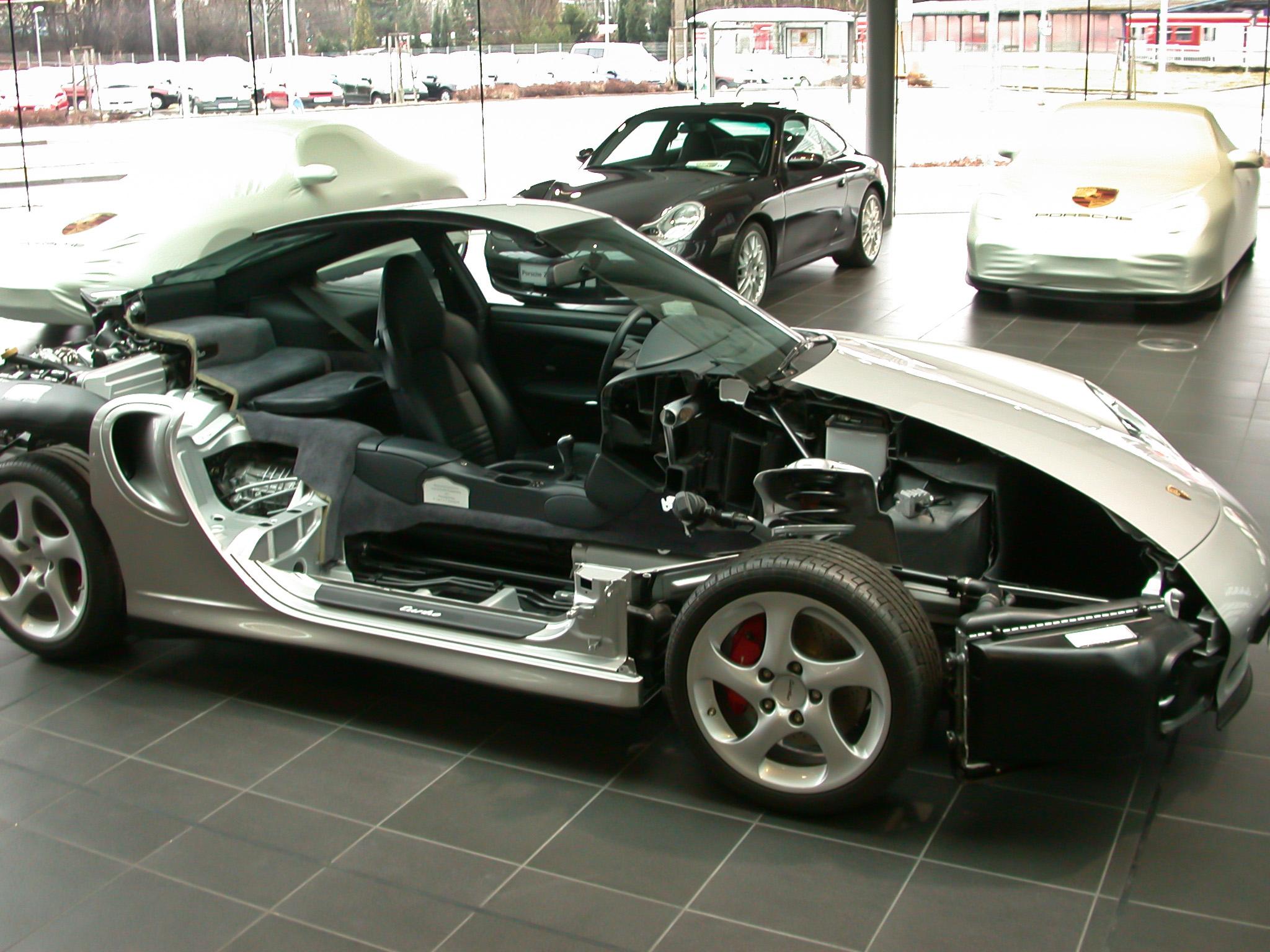 Porsche_911_halbiert_Seite Terrific 2002 Porsche 911 Carrera Turbo Gt2 X50 Cars Trend