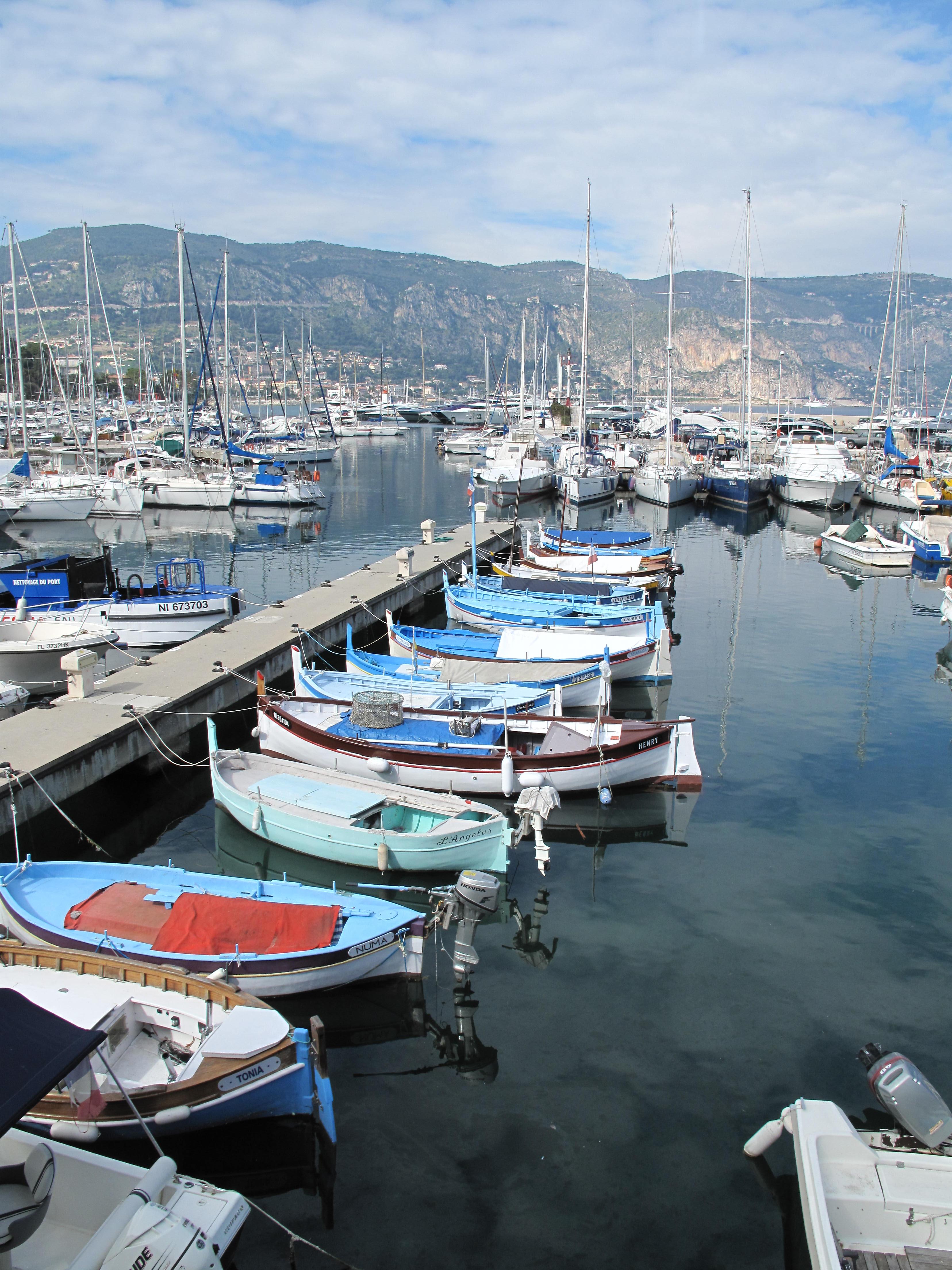 File port de saint jean cap wikimedia commons - Port saint jean cap ferrat ...