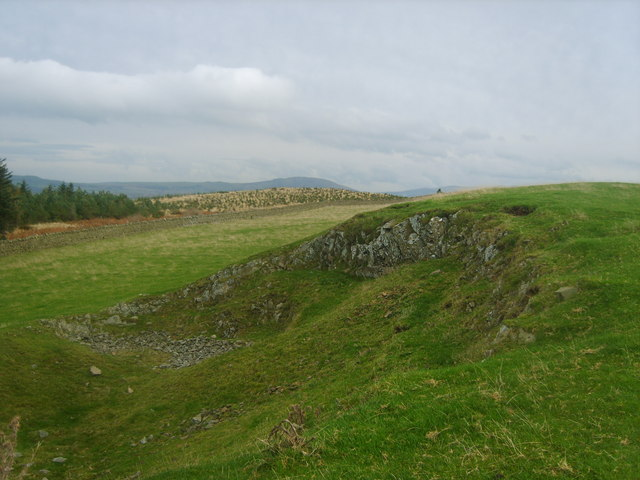 Quarry, Watch Hill - geograph.org.uk - 1548871