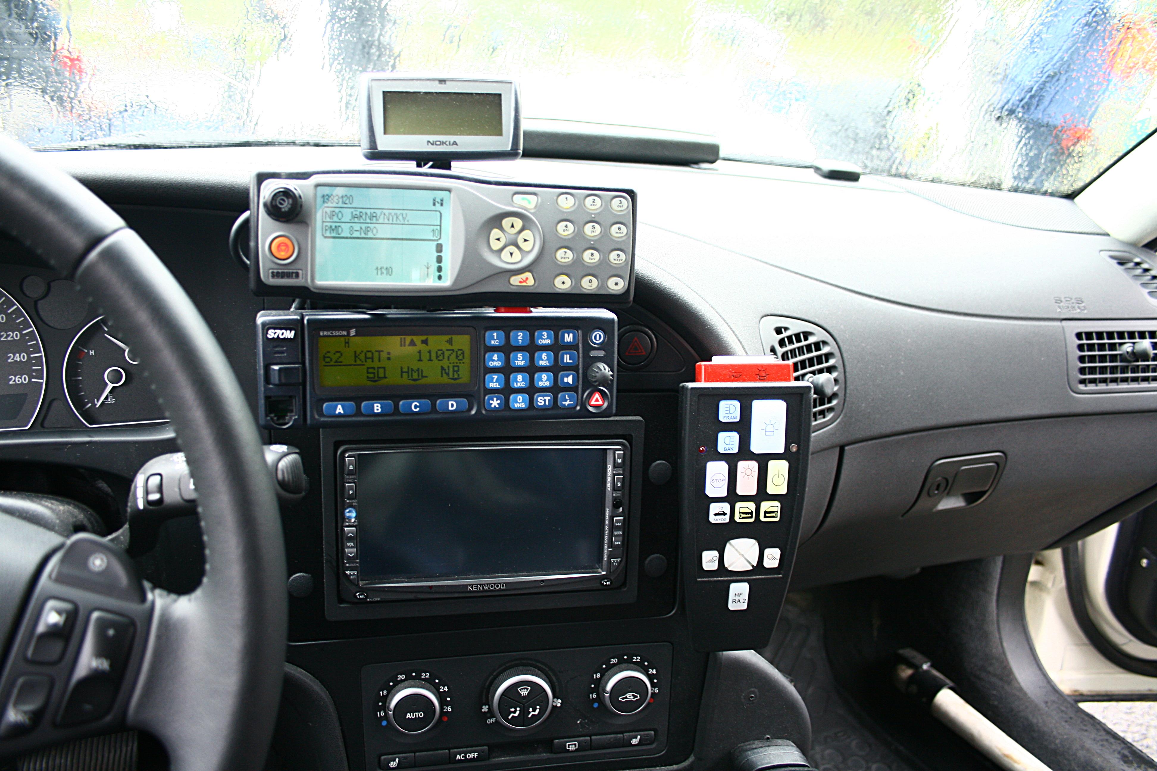 Polisens nya radiosystem togs ur drift