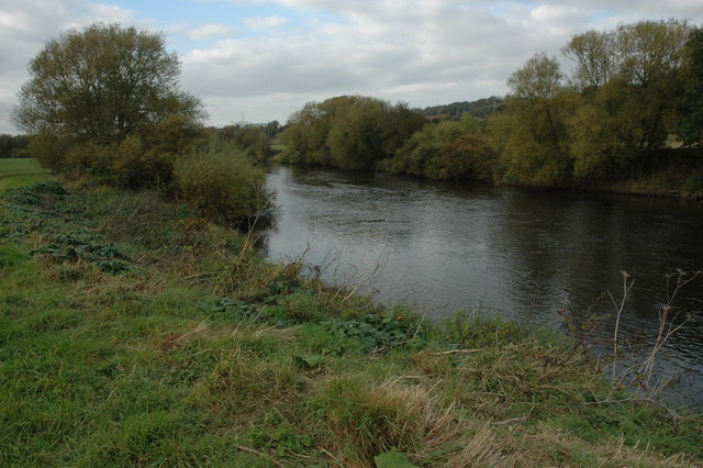 River Severn at Quatford - geograph.org.uk - 1547213