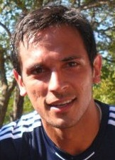 Roque Santa Cruz scored his 26th goal, becoming Paraguay's leading career scorer. Roque Luis Santa Cruz.jpg